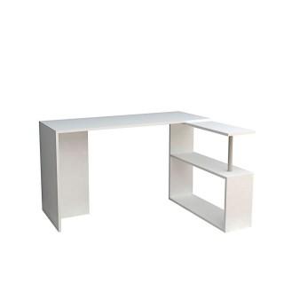 Bureau Cayko 130 cm - Blanc