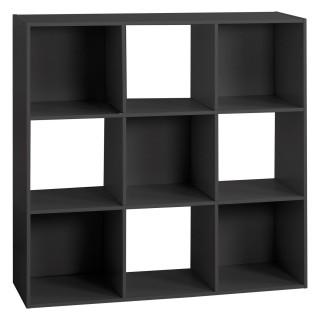 Etagère cube design Mix'n modul - L. 100 x H. 100 cm - Noir