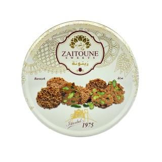 Barazek (biscuit au sésame & pistache) - Zaitoune - boîte 500g