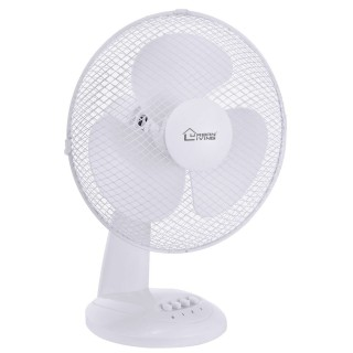 Ventilateur de table - Diam. 30 cm. -Blanc