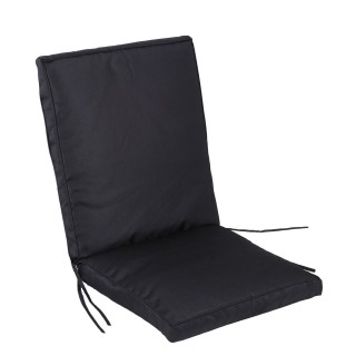 Dessus de fauteuil - 90 x 42 x 5 cm. - Noir