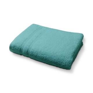 Lot 2x Serviette de toilette en coton - 50 x 90 cm - Bleu menthe
