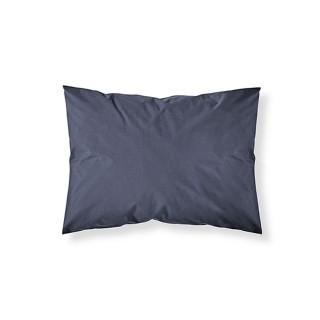 Lot 2x Taie d'oreiller Ciel d'orage - 100% coton 57 fils - 50 x 70 cm - Bleu foncé