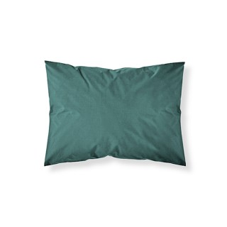 Lot 2x Taie d'oreiller - 100% coton 57 fils - 50 x 70 cm - Vert émeraude