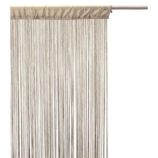 Lot 2x Rideau fils - 90 x 200 cm - Lin