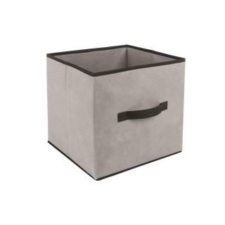 Lot 2x Boîte de rangement pour meuble - 31 x 31 cm - Lin