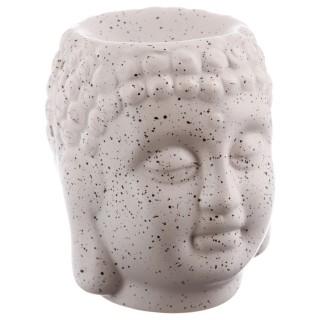 Lot 2x Brûle parfum en céramique - Bouddha - Beige