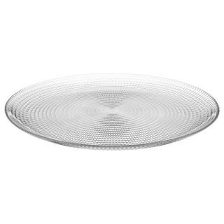 Lot 6x Assiette plate Génération - Diam. 27 cm - Transparent