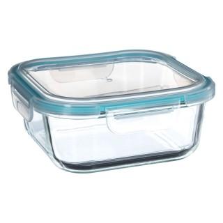 Lot 2x Lunch box en verre Clipeat - 1,8 L