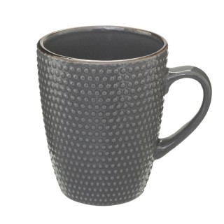Lot 2x Mug scandinave Perle - 320 ml - Gris