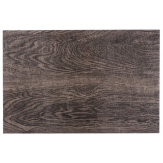 Lot 6x Set de table design bois Authentic - L. 30 x l. 45 cm - Noyer