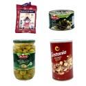 Feuilles de vigne farcies au riz, mix fruits à coques, olive verte au poivron + 500g riz basmati Mahmood OFFERT