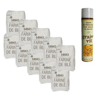 Spray de cuisson - farine de blé T55 10kg