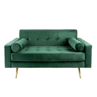 Canapé en velours Embrace - Vert