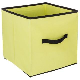 Boîte de rangement pour meuble - 31 x 31 cm - Vert Anis