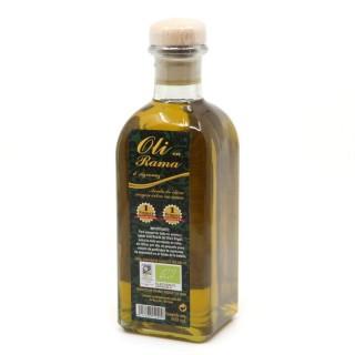 Huile d'olive Bio extra vierge non filtrée - bouteille 500ml