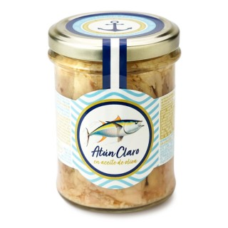 Thon clair à l'huile d olive - pot 200g
