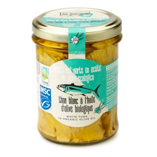 Thon Blanc MSC à l'huile d'olive BIO - pot 200g