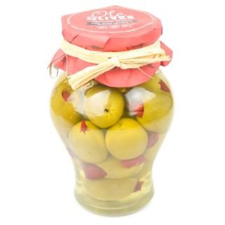 Olives Gordal farcies au «Hot Chili» - amphore 580g