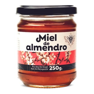 Miel de fleurs d'amandier - pot 250g