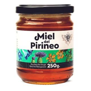 Miel de montagne des Pyrénées - pot 250g