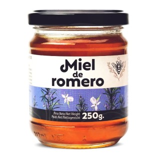 Miel de fleurs de romarin - pot 250g