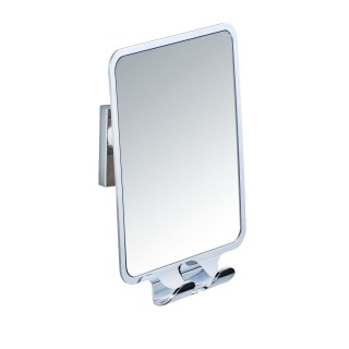Miroir anti-buée Quadro - L. 14 x H. 19,5 cm.