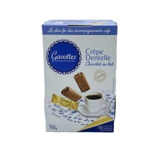 Crêpe dentelle chocolat au lait - Gavottes - boîte 750g