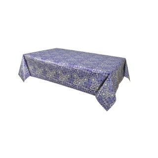 Toile cirée Dalia - 140 x 240 cm -  Bleu