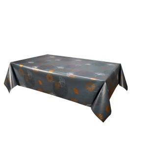 Toile cirée Boliba - 140 x 240 cm - Gris