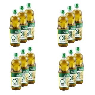 Lot 12x Huile de sésame - Greenfields - bouteille 450ml